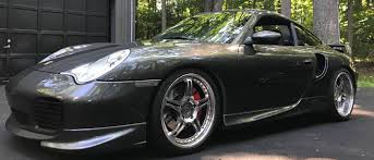porsche slate gray metallic 2004 porsche 996 turbo with x50