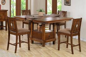kitchen brown wood dining table with walmart dining chairs on