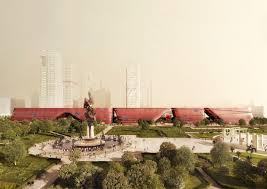 gallery of mecanoo begins work on vast cultural centre in shenzhen 1