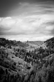 free stock photo of black and white landscape mountains download