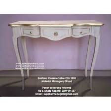 Painted Console Table Jepara Santara Painted Console Table Modern Minimalis Classic