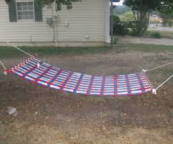 How To Make A Chair Hammock Duct Tape Hammock 12 Steps With Pictures