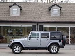 jeep silver 2014 jeep wrangler unlimited sahara copley motorcars