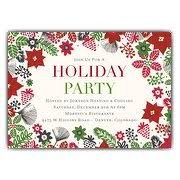 christmas invitations christmas party invitations paperstyle