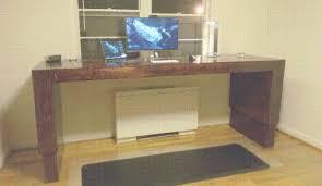 builds height adjustable desk for under 400