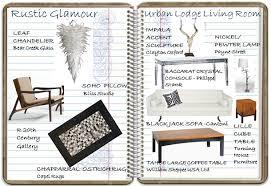 rustic glamour urban lodge living room look book u2013 decorating diva