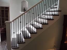 ideas collection wooden stairs railing image on stairwell banister