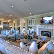 Love The Open Floor Plan With Family Room Off The Kitchen Like - Kitchen family room layout ideas