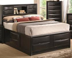 Solid Wood Bed Frame King Solid Wood King Bed Frame With Drawers Tidy King Bed Frame With