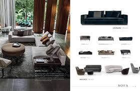 Minotti Home Design Products Moie