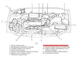 where is the crankshaft sensor located on a 2001 hyundai accent