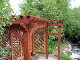 diy trellis arbor 2 diy arbors awnings decks pavilions pergolas u0026 bridge in rich