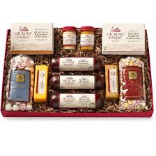 summer sausage gift basket thanksgiving gifts gift guide hickory farms