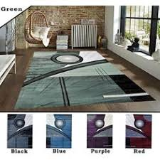 Carpet Area Rug 1016 Red Black White Blue Purple Modern Area Rug Contemporary