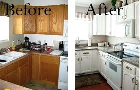 update an old kitchen various diy painted kitchen cabinets inexpensively update old flat