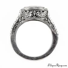 antique design rings images Mq004fr vintage filigree engagement ring for a marquise stone jpg