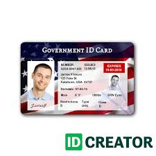 patriotic usa id badge ships same day from idcreator