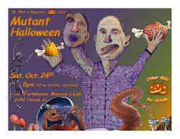 dr rick u0027s 2015 mutant halloween party at farmhouse mansion in san