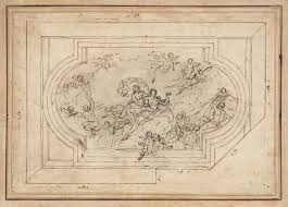 Baroque Ceiling by A Ceiling And Wall Decoration U0027 Sir James Thornhill C 1715 25 Tate