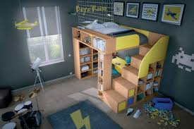 lit bureau enfant aménagement lit d enfant sur mesure archea