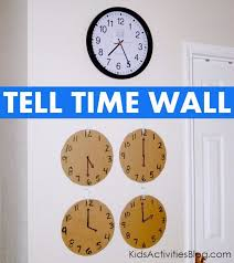 10 hands on tell time games kids activities