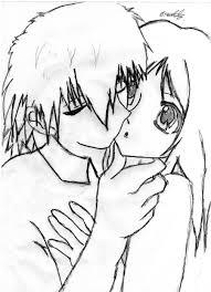 cute anime couple by bethlovesanime on deviantart