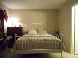 furniture affrdable bedroom decor ideas with whte metal ikea