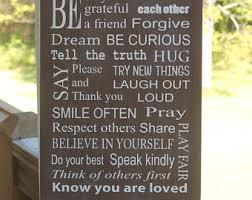 Family House Rules Family Rules Etsy
