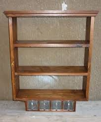 portaspezie legno aax stipetto pensile mobiletto legno arredo libreria portaspezie