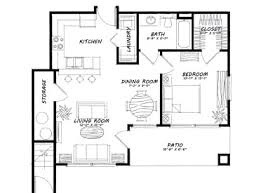 one bedroom house floor plans apartments