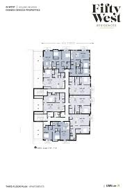 holland residences floor plan floor plans and available space 50 west residences 50 west