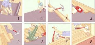 how to install hardwood floors apartment therapy