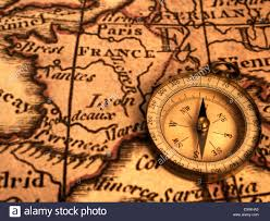 Map Of Usa With Compass France Map Stock Photos U0026 France Map Stock Images Alamy