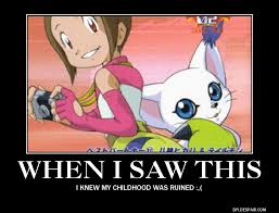 Ruined Childhood Meme - digimon meme childhood ruined by the kawaii kohai on deviantart
