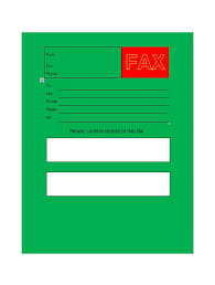 40 printable fax cover sheet templates template lab