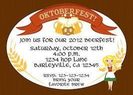 creative oktoberfest beerfest invitation template design oval