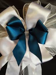 wedding pew bows any colors church pew bows and