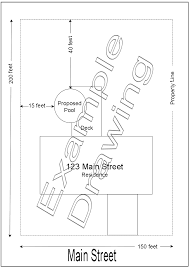 residential site plan residential building permit requirements