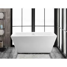 ravenna 60 x 28 freestanding acrylic soaking bathtub by finesse
