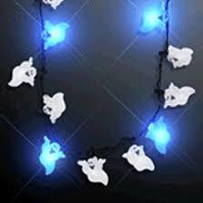 halloween ghost string lights halloween ghost string lights necklace magic matt s brilliant blinkys