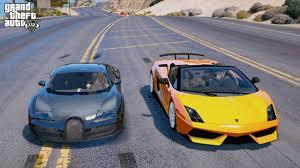 bugatti veyron vs lamborghini gallardo gta 5 child mod 52 bugatti veyron vs lamborghini