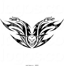 lamborghini logo vector royalty free clip art vector logo of a black and white skull