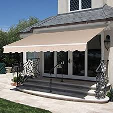 Patio Awning Reviews Amazon Com Aleko 16 X 10 Feet Retractable Motorized Patio Awning