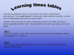 how to teach multiplication tables welcome to our year 3 to 6 maths evening ppt video online download