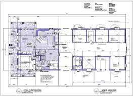 pole barn home floor plans house plans of barns with living space internetunblock us