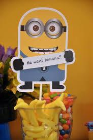 minion party favors despicable me party decorations despicable me minion party via