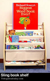 Kidkraft Bookcase Review Sling Bookshelf By Kidkraft Thingamababy
