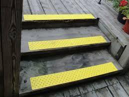 stair exterior stair design with gray wooden treads and floor
