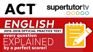 act explanations english official 2016 2017 practice test pdf in