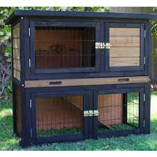 Rabbit Hutch Makers Brunswick Double Rabbit Guinea Pig Hutch Run Cage Buy Rabbit Hutches